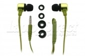 Kit Handsfree In-Ear Verde