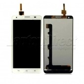 Display cu touch screen Huawei Honor 3X G750 alb