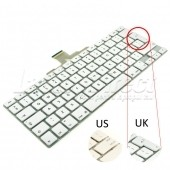 Tastatura Laptop Apple MacBook A1185 alba layout UK