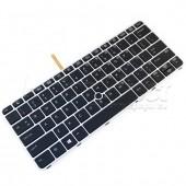 Tastatura Laptop HP EliteBook 820 G3 iluminata cu rama argintie