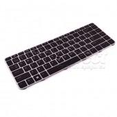 Tastatura Laptop HP EliteBook 840 G3 cu rama argintie iluminata