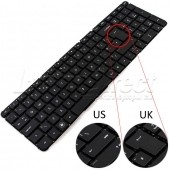 Tastatura Laptop Hp Pavilion Seria DV7-4xxx layout UK