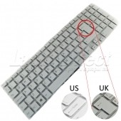 Tastatura Laptop Sony Vaio SVF15 alba layout UK