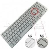 Tastatura Laptop Sony Vaio SVF15 alba layout UK