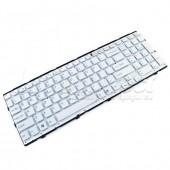 Tastatura Laptop Sony Vaio PCG-71C11M alba