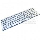 Tastatura Laptop Sony VAIO SVF152C29M argintie