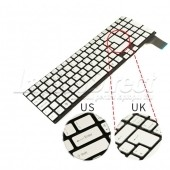 Tastatura Laptop Sony Vaio VPCSE argintie layout UK