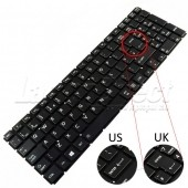 Tastatura Laptop Toshiba Satellite P50-C iluminata layout UK
