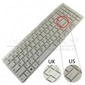 Tastatura Laptop Toshiba Satellite L50-B alba