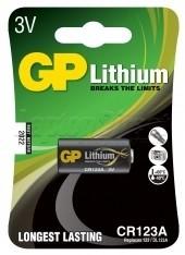 Baterie GP litiu 3V CR123A
