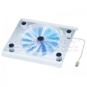 COOLER PAD NOTEBOOK - SUPORT DE RACIRE 1 VENTILATOR LED ALBASTRU