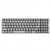 Tastatura Laptop Asus N750JV argintie iluminata