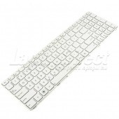 Tastatura Laptop Asus K52 alba cu rama