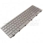 Tastatura Laptop Dell Inspiron 15-7537 iluminata argintie