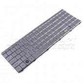 Tastatura Laptop Gateway NV52 varianta 2 argintie