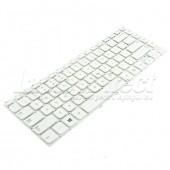 """Tastatura Laptop Samsung NP350V4X 14.0"""" alba"""