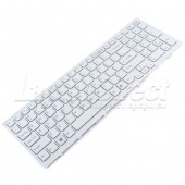 Tastatura Laptop Sony Vaio PCG-71C11M Alba cu rama