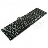 Tastatura Laptop Toshiba Satellite C850 iluminata
