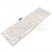 Tastatura Laptop Toshiba Satellite C55 alba
