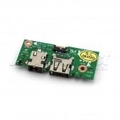 PLACA USB SI MUFA ALIMENTARE LAPTOP ASUS X301A